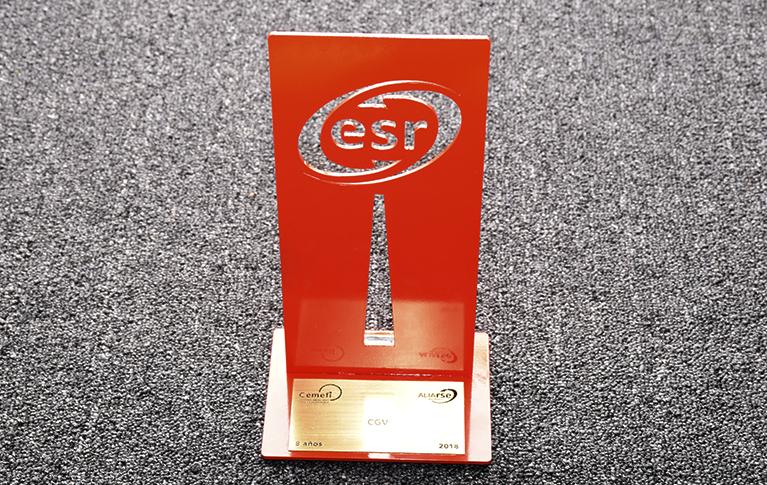 Orgullosamente somos ESR por 8 años consecutivos