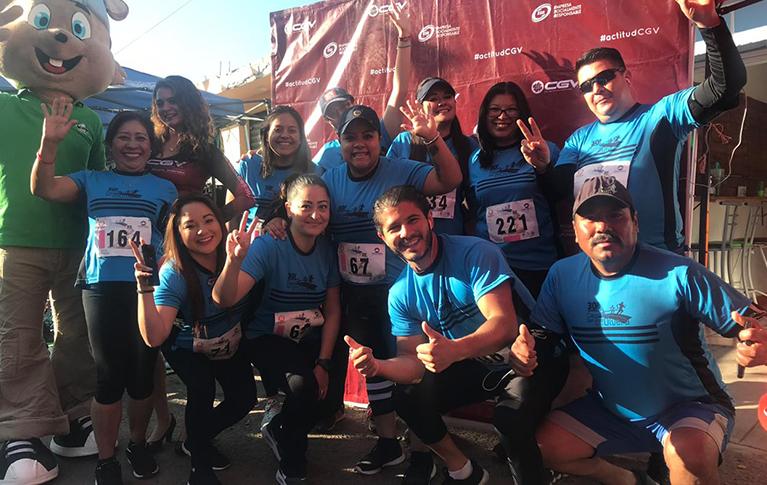 ESR- En CGV corremos en equipo llegando a la meta juntos