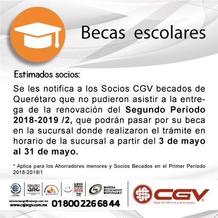 Renovación de Becas 2018-2019/2