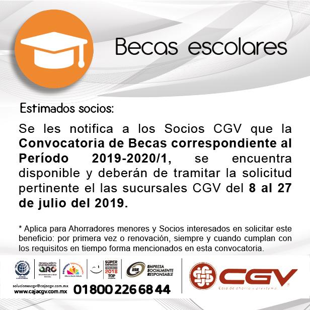 Solicitud de Becas 2019-2020/1