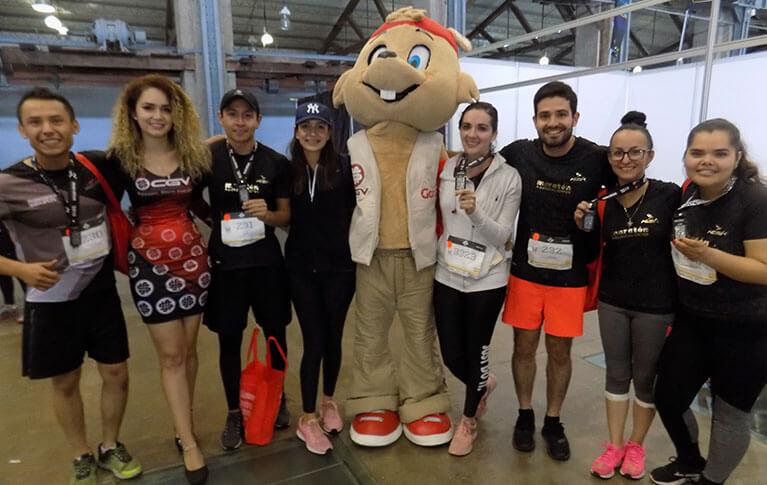 Caja CGV apoya al Maratón Aguascalientes 2019