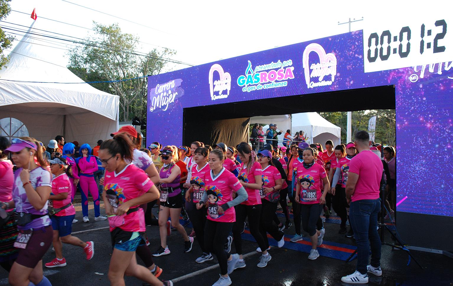 Caja CGV Presente en la Carrera Medio Maratón de la Mujer 2020