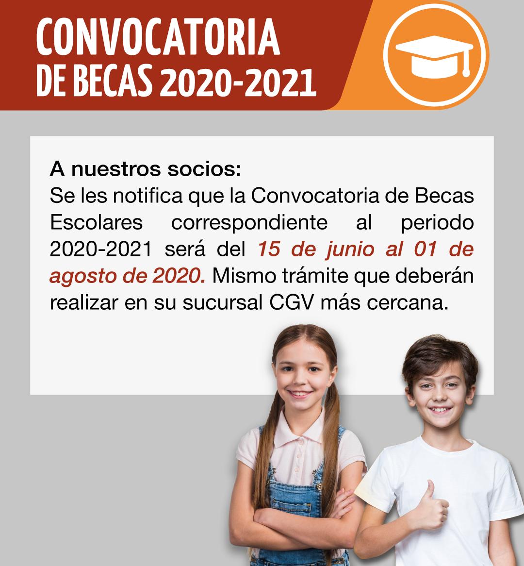 Solicitud de Becas 2020-2021/1