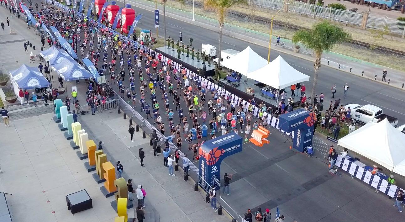 CGV en el Maratón Aguascalientes 2020